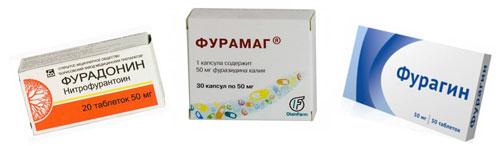 Антибиотики, которые используются при лечении пиелонефрита