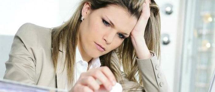 Стресс как причина пиелонефрита