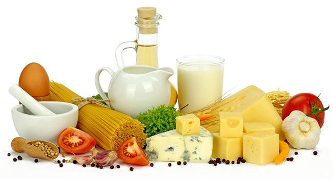 Сыр и овощи при МКБ