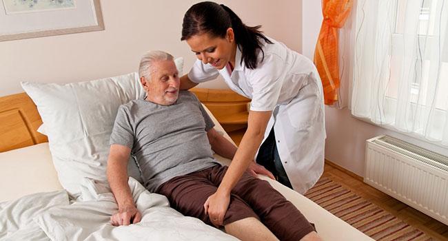 Гимнастика для лежачих больных